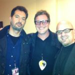Matt with Guy Oseary & Kevin Martin