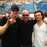 Matt with Kevin & Scott from Candlebox